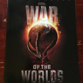 War of the Worlds Original Press Booklet (2005) Steven Spielberg, Tom Cruise