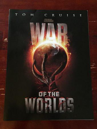 War of the Worlds Original Press Booklet (2005) Steven Spielberg, Tom Cruise