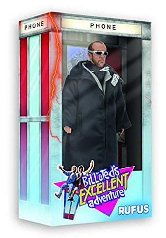 Bill and Ted's Excellent Adventure Exclusive NECA Rufus Action Figure