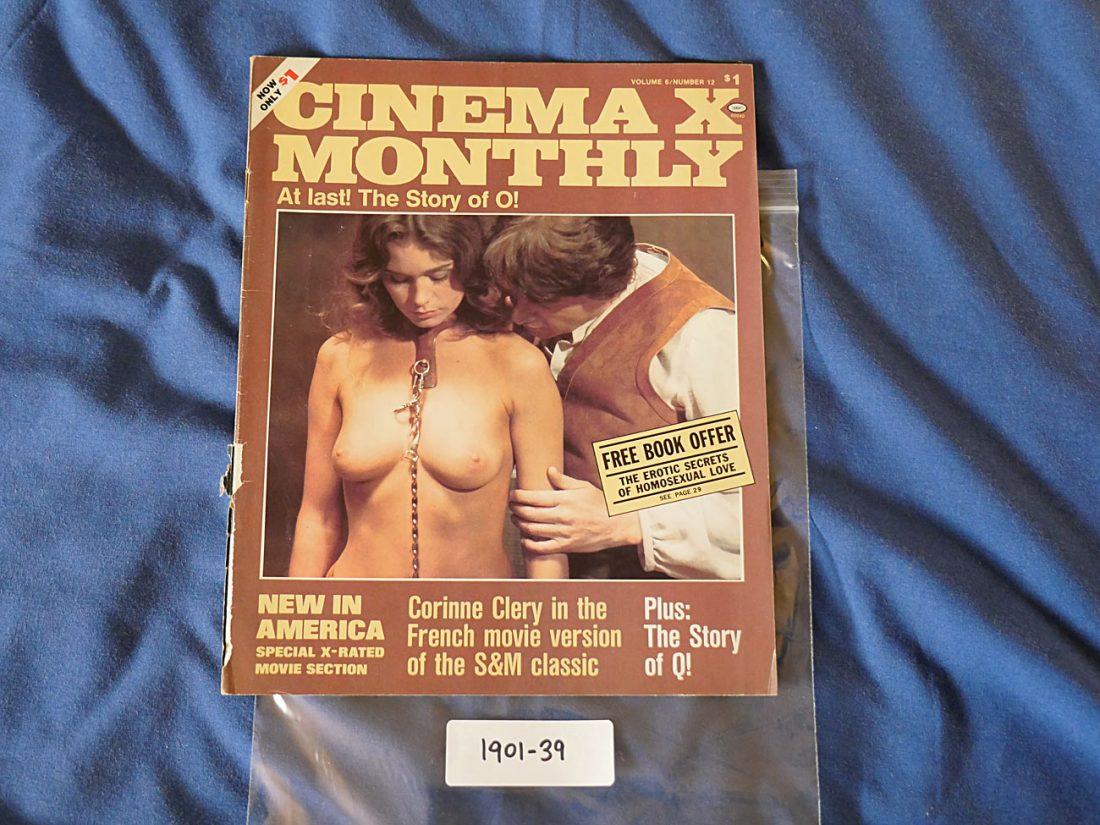 Cinema X Monthly Magazine Corinne Clery (April 1976, Volume 6 Number 12) 190139