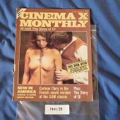 Cinema X Monthly Magazine Corinne Clery (April 1976, Volume 6 Number 12) 190139