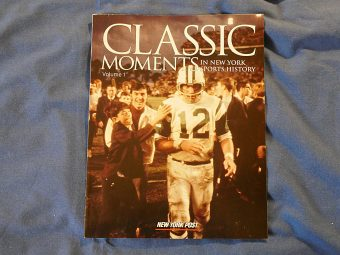 Classic Moments in New York Sports History Volume 1 (New York Post 2004) Joe Namath