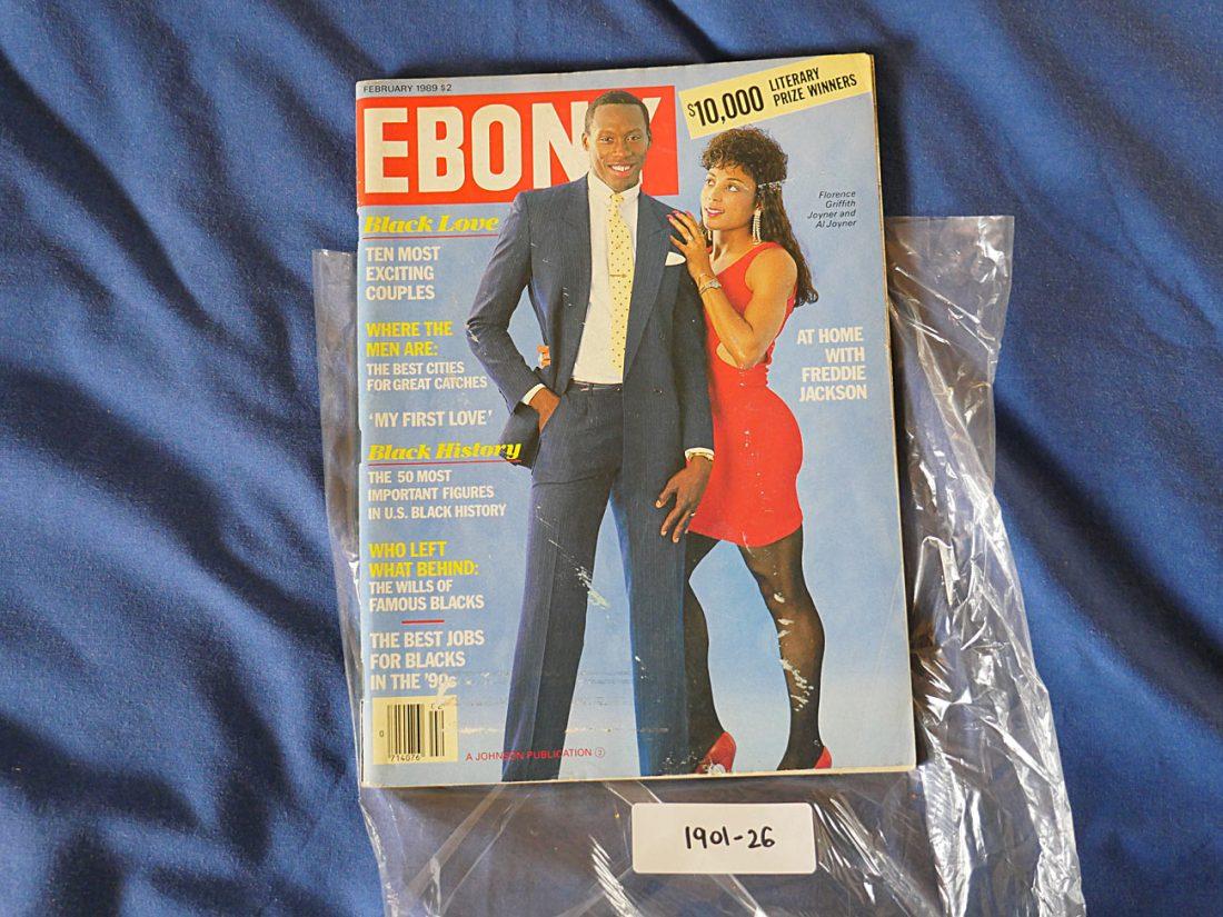 Ebony Magazine (February 1989) Florence Griffith and Al Joyner 190126