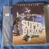 The Encyclopedia of Superheroes (1985) Vincent DiFate Cover Art 189131