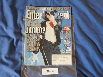 Entertainment Weekly 616 (September 21, 2001) Michael Jackson 190117