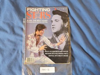 Fighting Stars Magazine (May 1978) Bruce Lee, Elvis Presley, Alan Meyer 190113