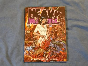 Heavy Metal Magazine Fluorescent Black (Vol. 32 #6 July 2008) SIGNED by M.F. Wilson and Nathan Fox