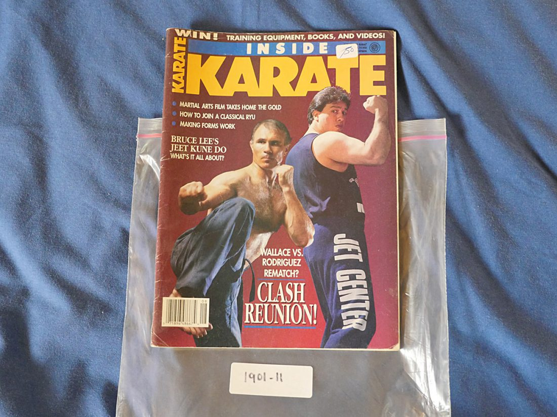 Inside Karate Magazine (August 1991) Bill Superfoot Wallace 190111