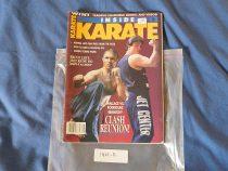 Inside Karate Magazine (August 1991) Bill Superfoot Wallace 190111