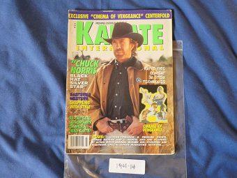 Karate International Magazine (June/July 1996) Chuck Norris 190114