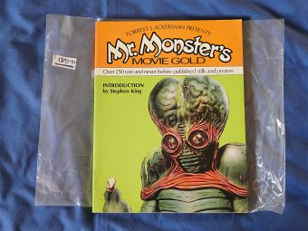 Forrest J Ackerman Presents Mr. Monsters Movie Gold with Introduction by Stephen King (1st Edition, 1981) [189130]