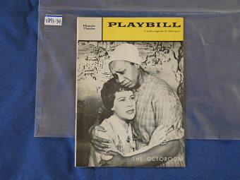 Playbill Magazine The Octoroon (Jan 30, 1961) 189134