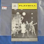 Playbill Magazine No Strings Diahann Carroll, Richard Kiley (May 7, 1962) 189136