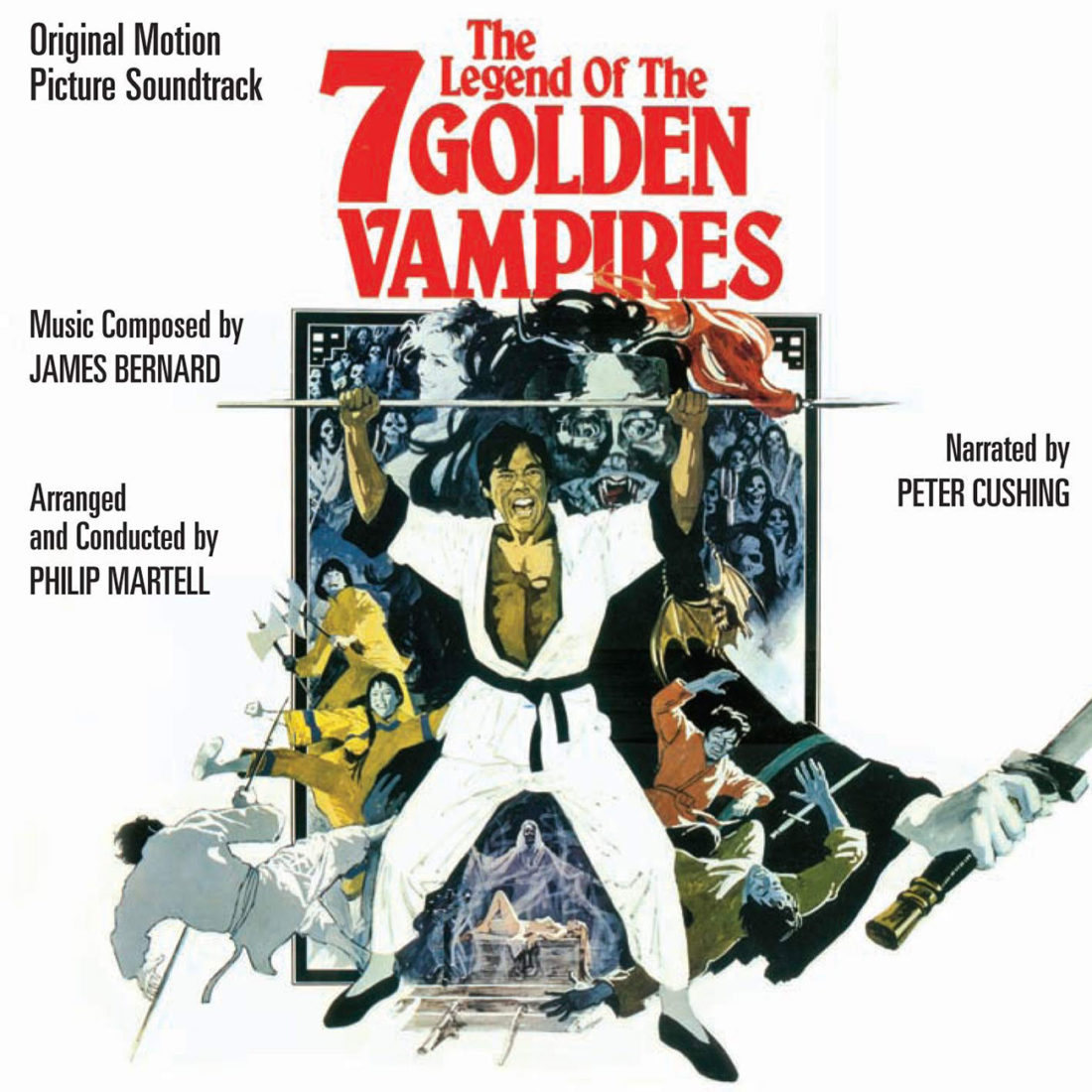 The Legend of the 7 Golden Vampires Original Motion Picture Soundtrack