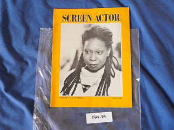 Screen Actor Magazine (Fall 1988) Whoopi Goldberg [190124]