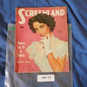 Screenland Magazine (June 1951) Elizabeth Taylor Cover [190123]