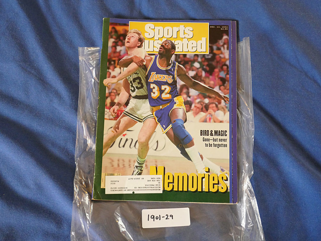 Sports Illustrated Magazine (December 14, 1992) Larry Bird, Magic Johnson [190129]
