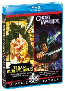Ghost Warrior + The House Where Evil Dwells Double Feature Blu-ray Edition