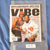 Vibe Magazine Eighth Anniversary Juice Issue (September 2001) Outkast Andre 3000, Big Boi [190131]
