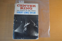 Center Ring: The People of the Circus Hardcover 1st Edition (1956)