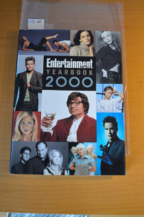 Entertainment Weekly Yearbook Hardcover Edition (2000) [193160]