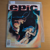 Epic Illustrated Magazine (Vol. 1 No. 10, February 1982) [19314] John Bolton Cover