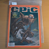 Epic Illustrated Magazine (June 1985) Jim Starlin, Jeffrey Jones, Jon Muth, Berni Wrightson [19315]