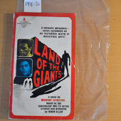 Land of the Giants – Television Show Tie-In Novel 1st Edition (Pyramid X-1846, 1968)