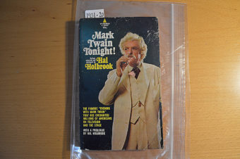 Mark Twain Tonight by Hal Holbrook, 2nd Pyramid Edition, T-1687 (1968) [193120]