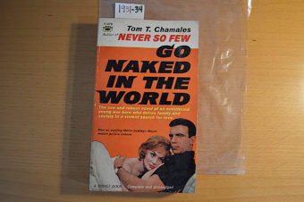 Go Naked in the World Movie Tie-In 1st Paperback Edition (Signet T1878, 1960)