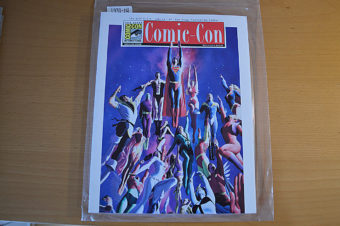 39th San Diego Comic Con International Souvenir Book (2008) with Alex Ross painted cover DC Comics' Legion of Super Heroes [193114]