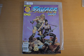 Savage Tales Comic Magazine (Vol. 2 No. 5 June 1986)  Edited by Larry Hama [193116]