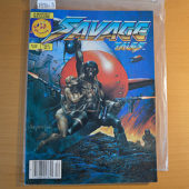 Savage Tales Magazine (Vol. 2 No. 2, December 1985) Larry Hama, Arthur Suydam Cover [19313]