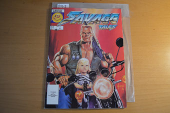 Savage Tales Magazine (Vol. 2 No. 7, October 1986) Larry Hama Editor, Joe Jusko Cover [19318]