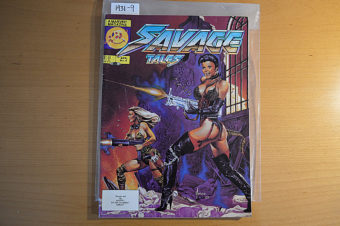 Savage Tales Magazine (Vol. 2 No. 4, April 1986) Larry Hama Editor, Joe Jusko Cover [19319]