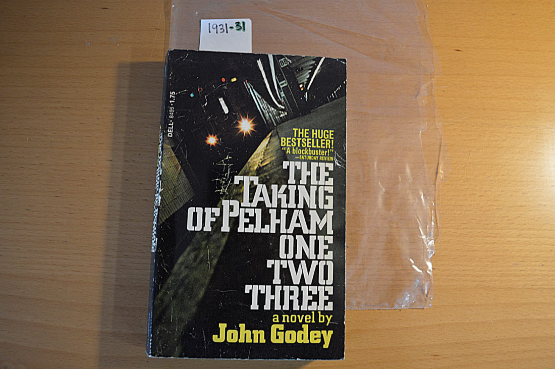 The Taking of Pelham One Two Three Paperback Movie Tie-In Edition (March 1974) Dell 8495 [193131]