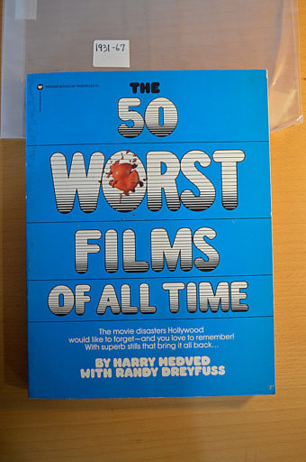 Fifty Worst Films of All Time by Harry Medved (June 1, 2084) [193167]