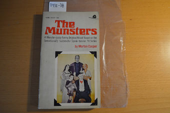 The Munsters G1237 Novel Adaptation (1964)