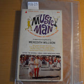 The Music Man Movie Tie-In 1st Paperback Edition (Pyramid Books R-736, June 1962)