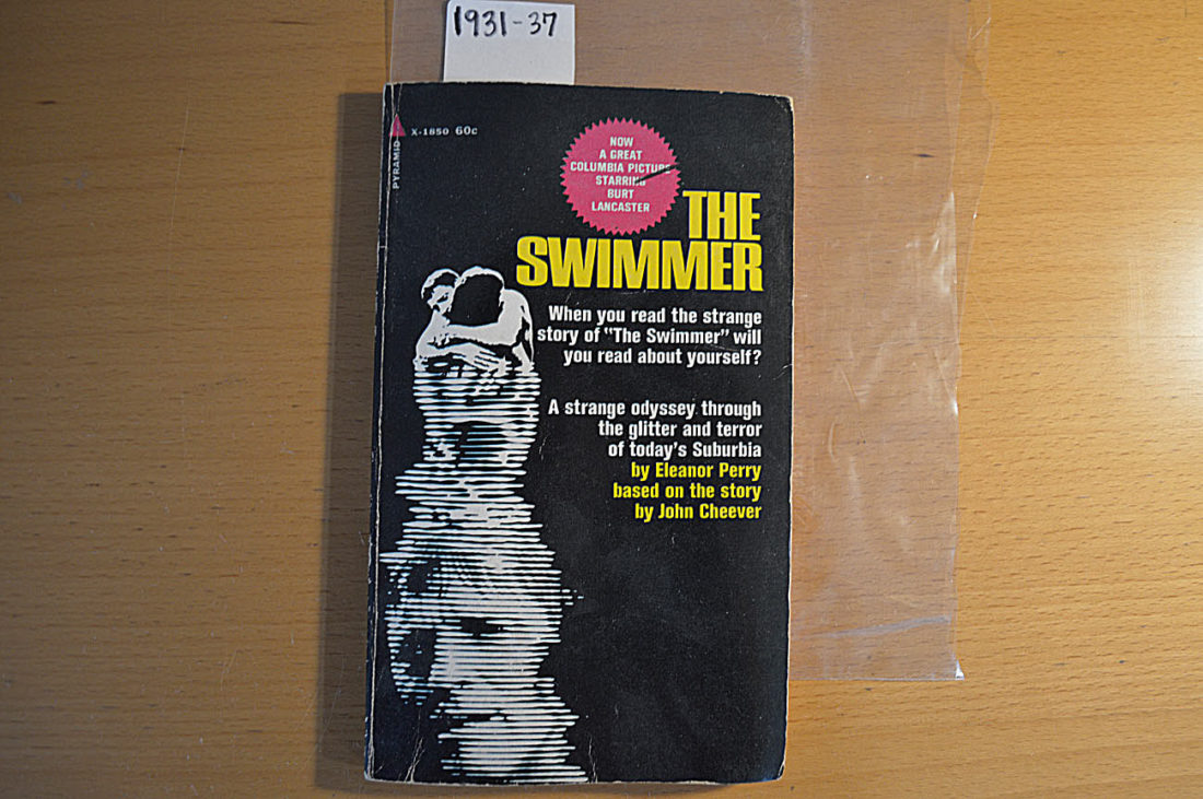 The Swimmer Movie Tie-In Paperback Edition (June 1968) X-1850 51101850060