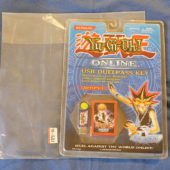 Konami YUGIOH Online USB Duelpass Key + Key Holder Set Series 1 (1996)