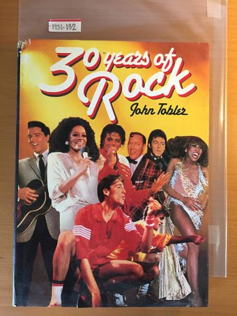 30 Years of Rock Hardcover 1st Edition (1986)