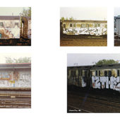 From the Platform 2: More NYC Subway Graffiti, 1983–1989 Hardcover Edition (2017)
