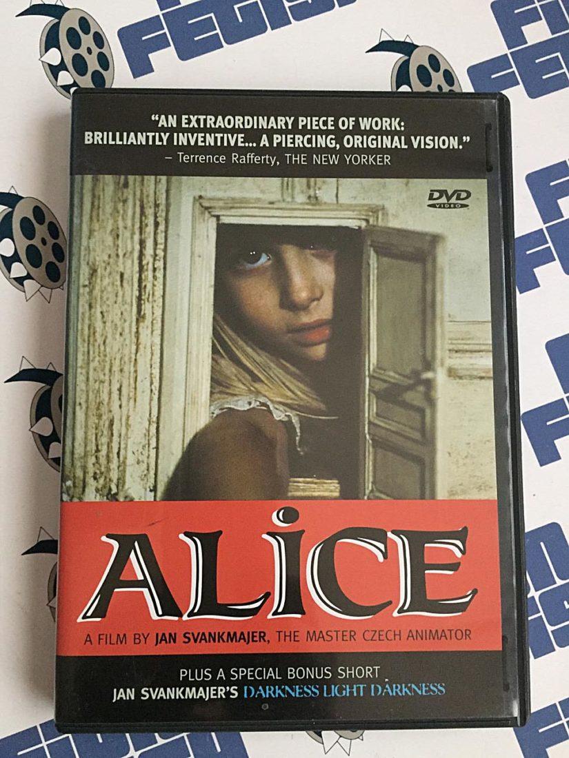 Jan Svankmajer's Alice DVD (2000)