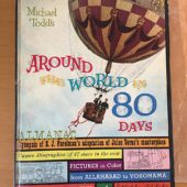 Around the World in 80 Days Almanac 1st Hardcover Edition (1956)