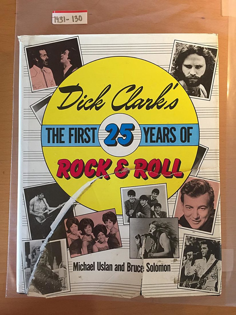 Dick Clark's The First 25 Years of Rock & Roll Hardcover 1st Edition (1988)