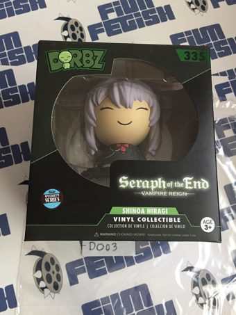 Funko DORBZ Seraph of the End Shinoa Hiragi Action Figure Vampire Reign Vinyl #335