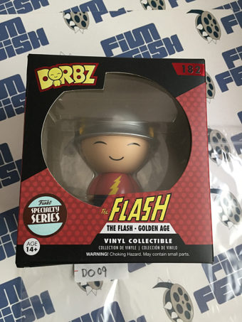 Funko DORBZ The Flash Golden Age Vinyl Action Figure #182