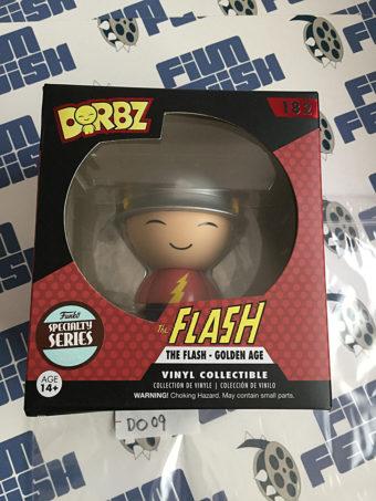 Funko DORBZ The Flash Golden Age Vinyl Action Figure #182