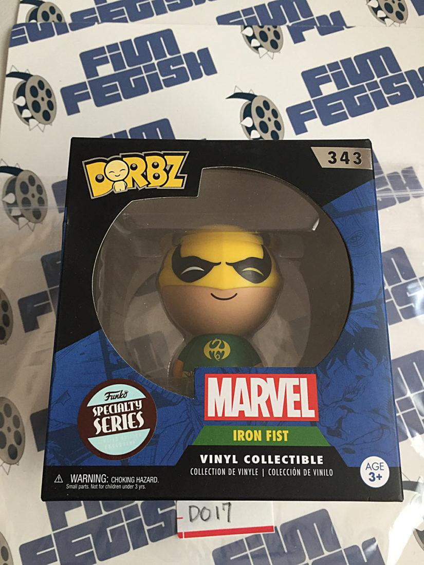 Funko DORBZ Marvel's Iron Fist Vinyl Figure 343